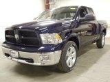2012 True Blue Pearl Dodge Ram 1500 Outdoorsman Quad Cab 4x4 #57823533