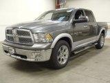 2012 Mineral Gray Metallic Dodge Ram 1500 Laramie Crew Cab 4x4 #57823531