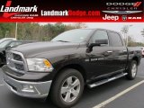 2011 Rugged Brown Pearl Dodge Ram 1500 Big Horn Crew Cab #57823060