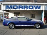 2005 Sonic Blue Metallic Ford Mustang V6 Deluxe Coupe #57823040