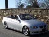 2009 Titanium Silver Metallic BMW 3 Series 335i Convertible #57823028