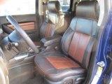 2009 Hummer H3 T Ebony/Morocco Brown Interior