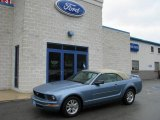 2006 Windveil Blue Metallic Ford Mustang V6 Premium Convertible #5772933