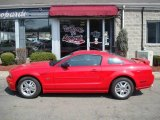 2007 Torch Red Ford Mustang GT Premium Coupe #5776262