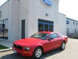 2007 Torch Red Ford Mustang V6 Deluxe Coupe #5772935