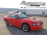 2001 Performance Red Ford Mustang GT Coupe #57823252