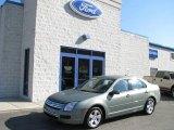 2008 Moss Green Metallic Ford Fusion SE V6 #5772908