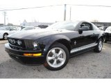 2007 Black Ford Mustang V6 Deluxe Coupe #57823438