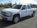 2012 Summit White Chevrolet Silverado 1500 LT Crew Cab #57823421