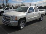 2012 White Diamond Tricoat Chevrolet Silverado 1500 LT Crew Cab 4x4 #57823416
