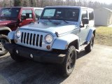 2012 Winter Chill Pearl Jeep Wrangler Sahara Arctic Edition 4x4 #57823384