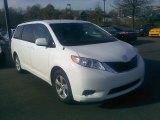 2011 Super White Toyota Sienna LE #57822908