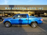 2012 Blue Flame Metallic Ford F150 XLT SuperCrew 4x4 #57823179