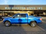 2012 Blue Flame Metallic Ford F150 XLT SuperCrew 4x4 #57823179