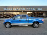 2012 Blue Flame Metallic Ford F150 XLT SuperCrew 4x4 #57823176