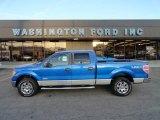2012 Blue Flame Metallic Ford F150 XLT SuperCrew 4x4 #57823176