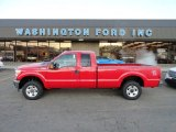 2012 Vermillion Red Ford F250 Super Duty XL SuperCab 4x4 #57823174