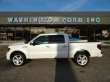 2011 White Platinum Metallic Tri-Coat Ford F150 Limited SuperCrew 4x4 #57823170