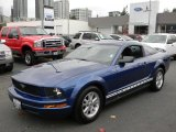 2006 Vista Blue Metallic Ford Mustang V6 Deluxe Coupe #57873751