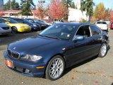 2004 Mystic Blue Metallic BMW 3 Series 330i Coupe #57873741