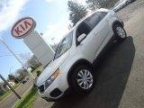 2011 Bright Silver Kia Sorento LX V6 AWD #57877420