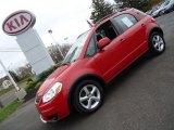 2007 Suzuki SX4 Bright Red