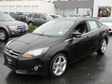2012 Tuxedo Black Metallic Ford Focus Titanium Sedan #57873708