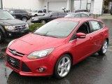 2012 Red Candy Metallic Ford Focus Titanium 5-Door #57873707