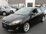 2012 Tuxedo Black Metallic Ford Focus Titanium 5-Door #57873705