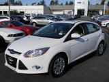 2012 Oxford White Ford Focus SE 5-Door #57873703
