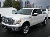 2011 White Platinum Metallic Tri-Coat Ford F150 Lariat SuperCrew 4x4 #57873665