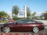 2007 Barbera Red Metallic BMW 3 Series 328i Convertible #57873650