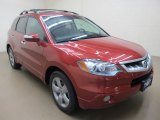 2008 Moroccan Red Pearl Acura RDX Technology #57873638