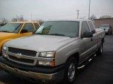 2004 Silver Birch Metallic Chevrolet Silverado 1500 LS Extended Cab #57875498