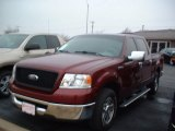 2006 Dark Toreador Red Metallic Ford F150 XLT SuperCrew #57875495