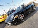2008 Black Porsche 911 Turbo Cabriolet #57873617