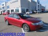 2008 Vivid Red Metallic Lincoln MKZ Sedan #57873609