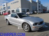 2006 Satin Silver Metallic Ford Mustang GT Premium Coupe #57873605