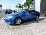 2006 Vivid Blue Pearl Acura RSX Sports Coupe #57873566