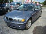 2005 Steel Blue Metallic BMW 3 Series 325i Sedan #57877370