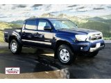 2012 Nautical Blue Metallic Toyota Tacoma V6 TRD Double Cab 4x4 #57873530