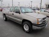 2003 Light Pewter Metallic Chevrolet Silverado 1500 LS Extended Cab 4x4 #57875454