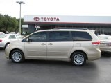 2012 Sandy Beach Metallic Toyota Sienna XLE #57873488