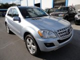 2009 Mercedes-Benz ML Alpine Rain Metallic