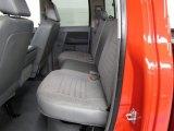 2008 Dodge Ram 1500 TRX4 Quad Cab 4x4 Medium Slate Gray Interior