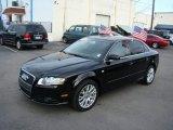 2008 Brilliant Black Audi A4 2.0T S-Line Sedan #57877269
