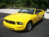 2006 Screaming Yellow Ford Mustang V6 Premium Convertible #57877262