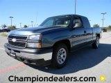 2006 Blue Granite Metallic Chevrolet Silverado 1500 LS Extended Cab #57873429