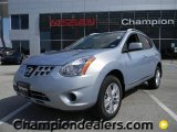 2012 Frosted Steel Nissan Rogue SV #57873412
