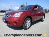 2012 Cayenne Red Nissan Rogue SV #57873410